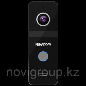 Цветная вызывная панель 800ТВЛ со сверхшироким углом обзора и подсветкой NOVIcam FANTASY BLACK