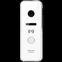 Цветная вызывная панель 800ТВЛ со встроенным считывателем/контроллером СКУД NOVIcam FANTASY ER WHITE