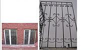 Прямые решетки на окна, фото 1