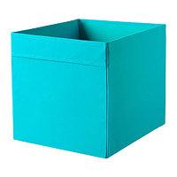 Коробка ДРЁНА синий 33x38x33 см ИКЕА, IKEA, фото 1