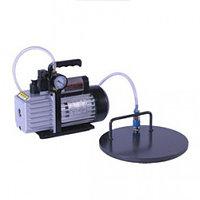Овальная вакуумная плита с двумя присосками, включая электрическую помпу