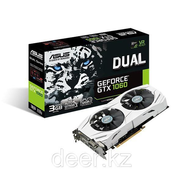 Видеокарта Asus DUAL-GTX1060-3G 3Gb GeForce® GTX 1060 90YV09X5-M0NA00