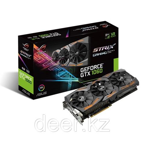 Видеокарта Asus GeForce GTX1060 STRIX-GTX1060-6G-GAMING 90YV09Q1-M0NA00