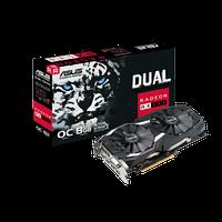 Видеокарта Asus DUAL-RX580-O8G AMD Radeon RX 580 90YV0AQ1-M0NA00