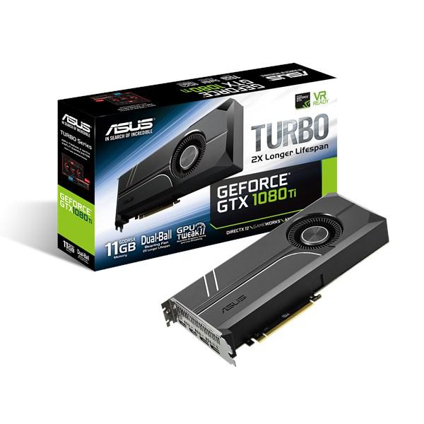 Видеокарта Asus TURBO-GTX1080TI-11G GeForce® GTX 1080 90YV0AN0-M0NM00