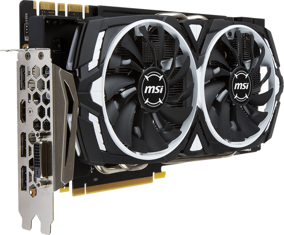 Видеокарта MSI GeForce GTX 1070 Ti ARMOR 8G