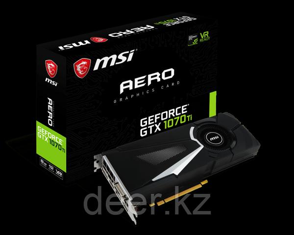 Видеокарта MSI GeForce GTX 1070 Ti AERO 8G