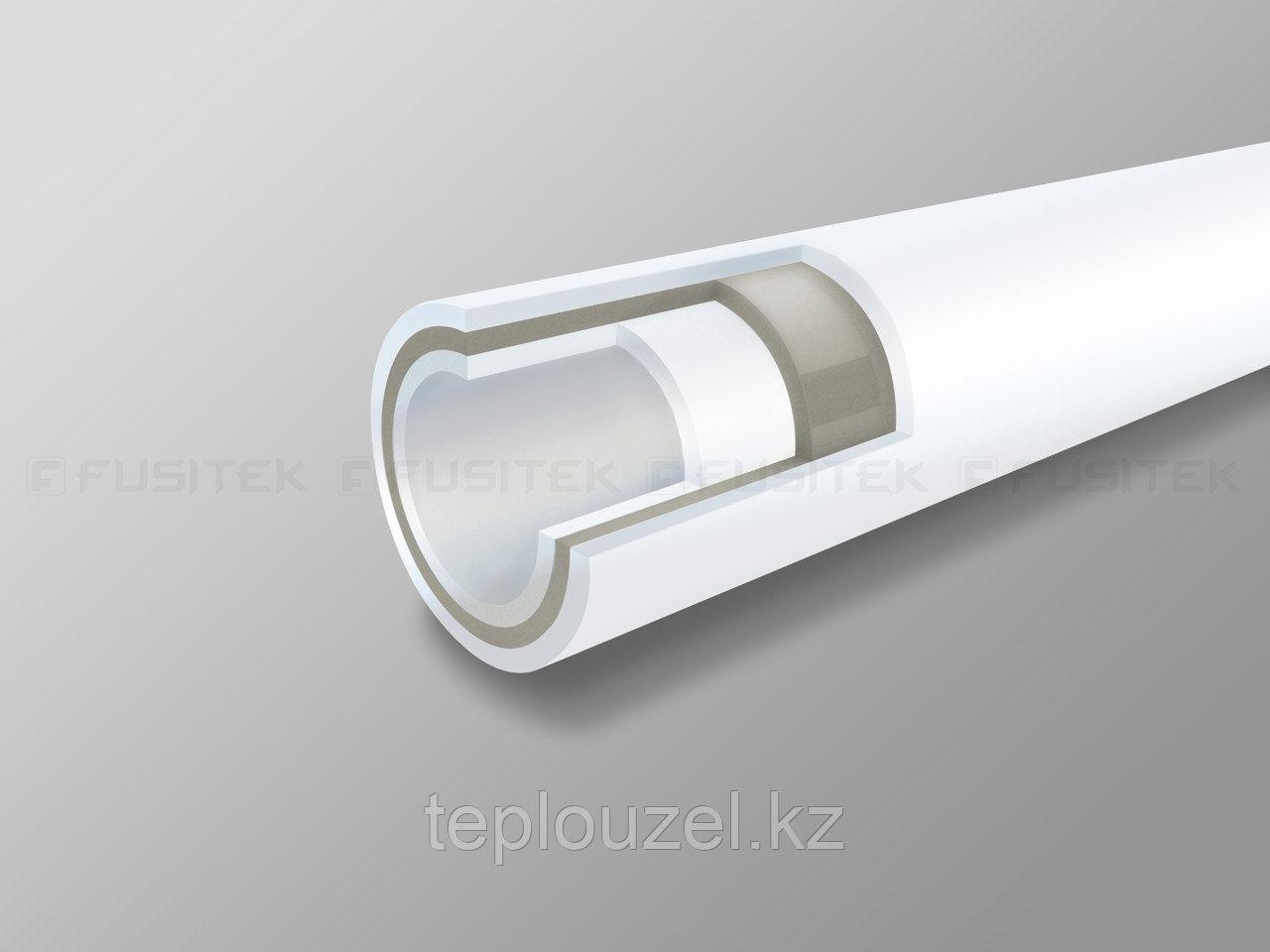 Труба композитная D25 из ППР со стекловолокном Fusitek (Россия)