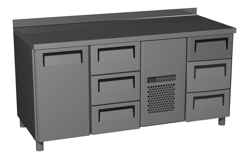 Стол холодильный Carboma T70 M3-1 0430 (3GN/NT 133)