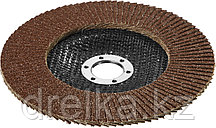 """Круги шлифовальные STAYER """"PROFI"""" лепестковые торцевые, зерно-электрокорунд нормальный, тип КЛТ 1, фото 3"""