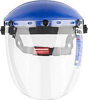 Щиток защитный лицевой СИБИН с экраном из поликарбоната