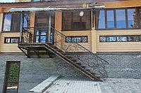 Козырек с лестницой, фото 1