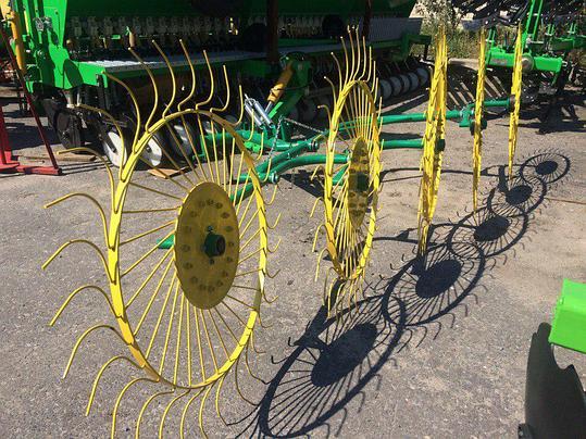 Грабли-ворошилки 5-ти колесные PZ-250 Польша, фото 2