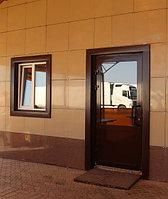 Алюминиевые входные двери, фото 1