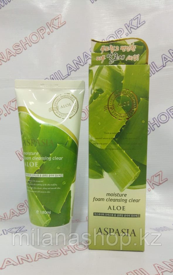 Aspasia Moisture Foam Cleansing Aloe - Пенка для умывания с Алое