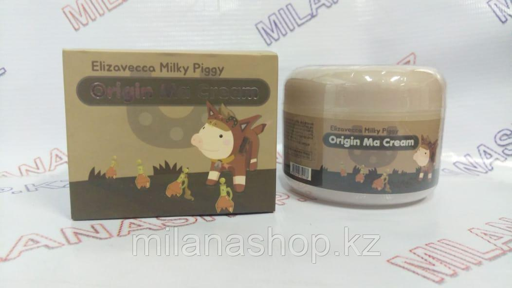 Elizavecca Milky Piggy Origin Ma Cream - крем для лица с лошадиным маслом