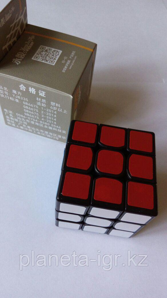 Кубик 3х3 guanlong бел или черн арт YJ8335