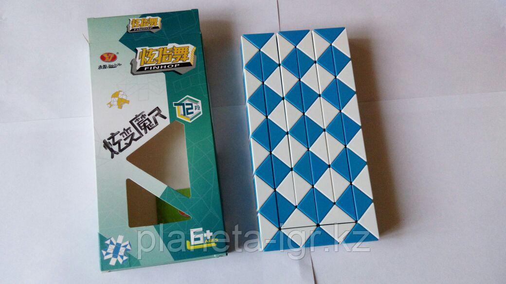 Кубик Змейка 72 элементов колор, YongjunToys