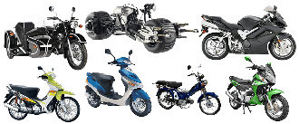 Мотоциклы, мотороллеры, скутеры, мопеды