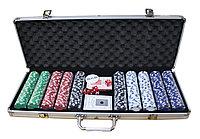 Набор для покера POKER GAME SET, 500 фишек
