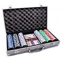 Набор для покера POKER GAME SET, 300 фишек
