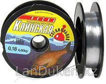 Леска  рыболовная KЛИНСКАЯ в бабине 100 м 0.6 мм