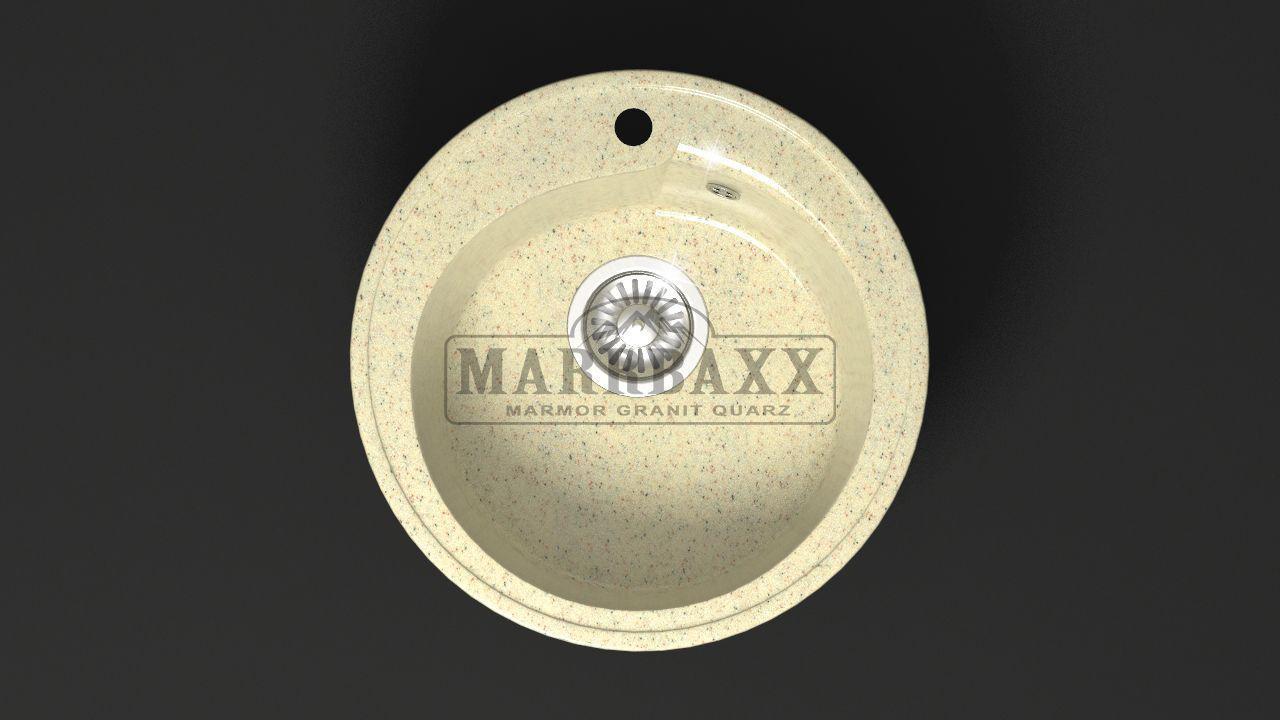Мойка кухонная Marbaxx Венди Z4 бежевый фреш