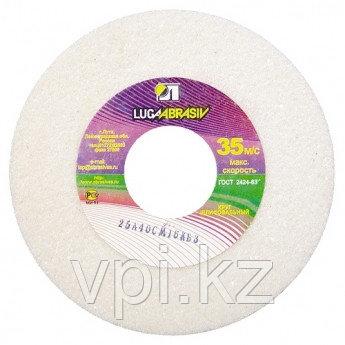 Круг абразивный шлифовальный (заточной) белый 150*20*32, 25A, F40 K-L Луга