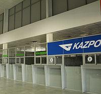 Монтаж офисных перегородок в Казахстане