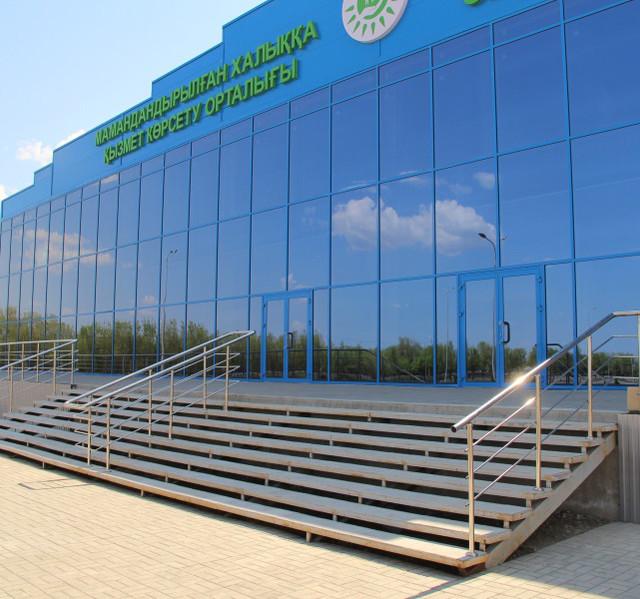 Алюминиевые витражи, фасады