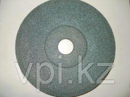 Тарелка абразивная шлифовальная (заточная) зеленая 150*16*32 КС РНП
