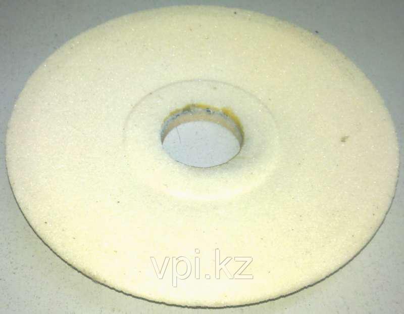 Тарелка абразивная шлифовальная (заточная) белая 200*16*32, 25А, КС РНП