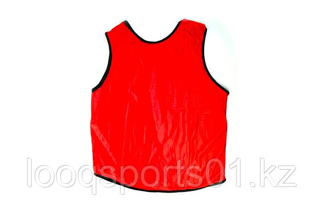Футбольная накидка, манишка (красный)