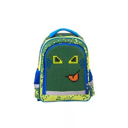 Рюкзак школьный с пикси-дотами (зеленый)