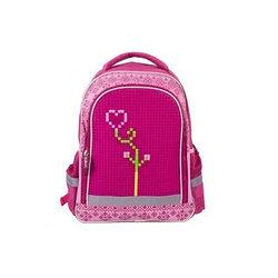 Рюкзак школьный с пикси-дотами (розовый)