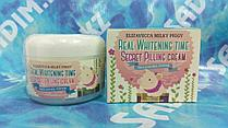 Elizavecca Real Whitening Time Secret Pilling Cream — Осветляющий крем для лица с эффектом пилинга