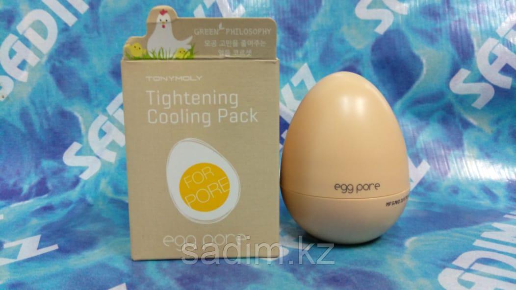 Tony Moly Egg Pore Tightening Cooling Pack - Охлаждающая маска с яичными экстрактами, сужающая поры
