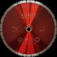 Сегментный алмазный диск по граниту 350 мм ALEXDIA