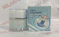 Elizavecca Aqua Hyaluronic Acid Water Drop Cream - Увлажняющий крем для лица с гиалуроновой кислотой