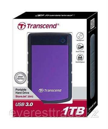 Внешний жесткий диск Transcend StoreJet 25H3 TS1TSJ25H3P, 1000Гб, USB 3.0, 2.5, фото 2