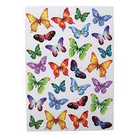 Наклейки Decoretto 'Пестрые бабочки' 50х70 см