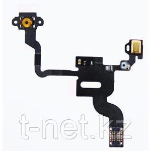 Шлейф iPHONE 4G на кнопку вкл/выкл с микрофоном - фото 1