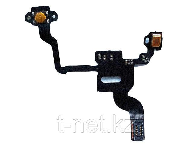 Шлейф iPHONE 4G на кнопку вкл/выкл с микрофоном - фото 2