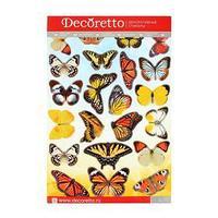 Наклейки интерьерные 'Садовые бабочки'