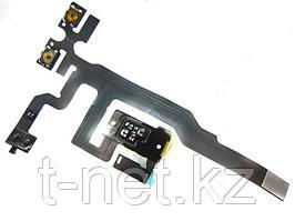 Шлейф iPHONE 4S на кнопки громкости, наушники