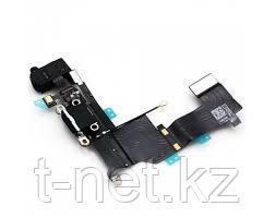 Шлейф iPHONE 5SE на зарядку, с микрофоном и наушники - фото 2