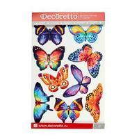 Наклейки интерьерные 'Акварельные бабочки'