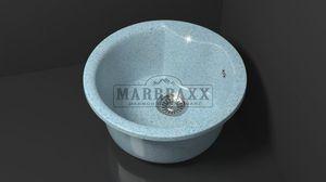 Мойка кухонная Marbaxx Флори Z2,голубой