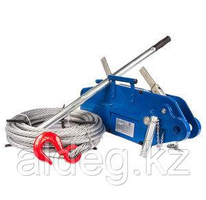 Лебедки ручные рычажные тросовые (механизмы тяговые монтажные) 1,6 т 12 м