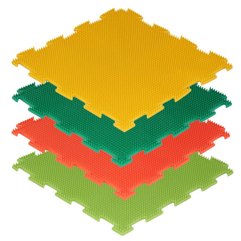 Модульный массажный коврик ОРТО «Трава», жёсткая